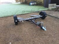 Car transporting towing trailer heavy duty vehicle recovery trolly dolly car towing trailer