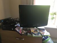 Xbox 360, Kinect, controller and games!