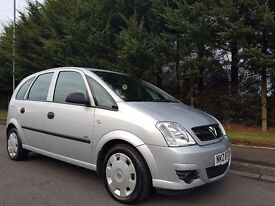 MARCH 2010 VAUXHALL MERIVA LIFE TWINPORT 1.4 16V PETROL MPV IMMACULATE LOW MILEAGE EXAMPLE MOT MARCH