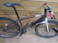Genesis IO Singlespeed Mountain Bike with hydraulic brakes - 16inc size