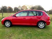 Honda Civic Automatic 1.6 Executive Auto , Low Mileage Heated Leather Seats&Glass Sunroof,Quick Sale