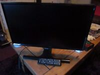 Like New 24ins Samsung TV less than 1 year old only used to watch DVD's