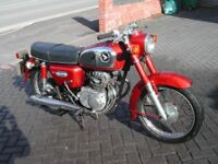 Honda CD175 very origional, 2 owners from new Tax and MOT exempt, may px ...