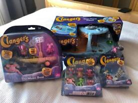 NEW clangers sets