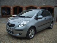 [56] Toyota Yaris 1.4 D-4D T Spirit Auto 5dr Top Spec With Only 54000 Miles Full Toyota History