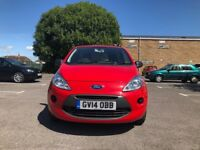 Ford KA 1.2 Studio 3dr£5,995 p/x welcome 550 miles only 2014 (14 reg), Hatchback 550 miles Manual