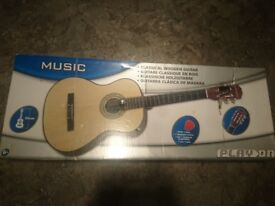 Guitar in box never used