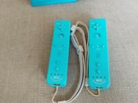 Wii remote plus blue controllers x2