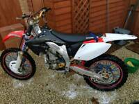 Honda crf 450 swap for ktm 250/300 2t
