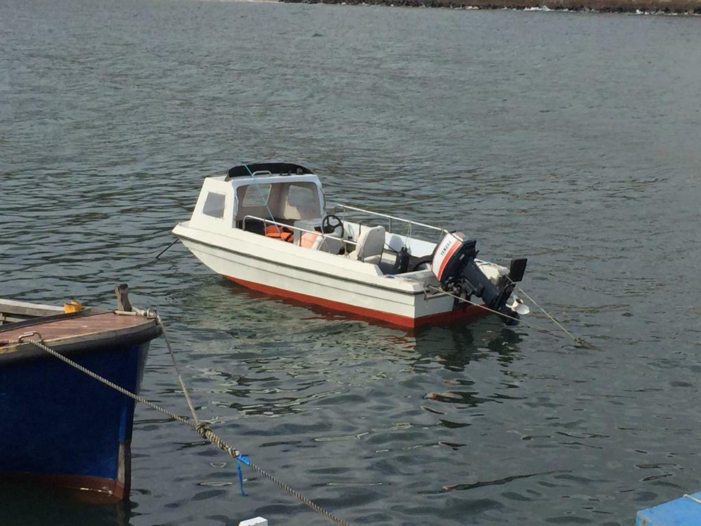 Boat fishing boat seahog shortie outboard in for Jet fishing boat