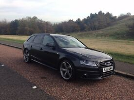 AUDI A4 AVANT S-LINE BLACK EDITION 2011, 2.0 TDI [start stop] LEATHER, MMI, B&O Audio & many more