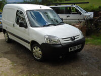 PEUGEOT PARTNER 1.6HDI 2009 Lightly used van - no issues, ready to drive away!