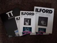 Ilford Black & White Darkroom Paper 6x boxes of 10x8 and 5x7