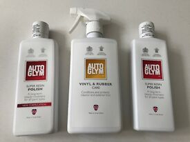 AUTOGLYM Polish & Vinyl\Rubber Care