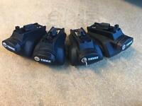 Thule Rapid System Foot Pack 757 4 identical locks and 1 key. Great Condition