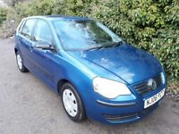 2006 Volkswagen Polo 1.2 E 5dr VGC INSIDE AND OUT LONG MOT Low mileage Cheap Used cars Leicester