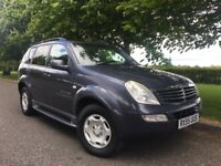 ssangyong rexton 4x4 2.7 diesel mercedes engine luxury suv px or swap
