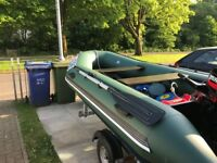 3.3m Rib /Sib Boat 15hp mercury 2 stroke with New Trailer
