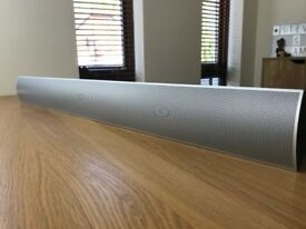 Bang & Olufsen 7.1 Soundbar Speaker With Wall Mount Bracket & Adapter Cable 7-1
