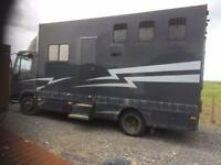 Compact iveco horse lorry