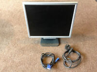 """ACER al1716s FLAT SCREEN 17"""" MONITOR EXCELLENT CONDITION"""