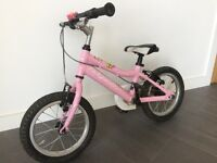 Pink Ridgeback girls bike