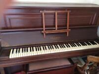 *Gone/Ended/Sold*. Piano, upright, Cramer. ASAP!