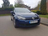 Volkswagen Golf 2009 2.0TDI Diesel CR (140ps) SE Hatchback 5dr FULL MOT