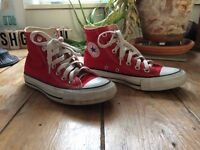 All Star Red Converses