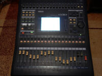 Yamaha 03D Digital mixer with ADAT expansion card.