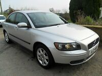 volvo s40 se 2.0 diesel 2007 silver alloys cd full years motd