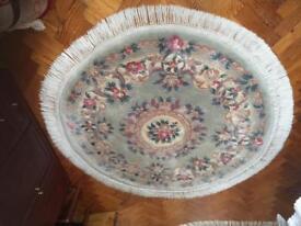 Large round Chinese carpet