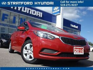 2014 Kia Forte 1.8L LX | ONLY 53K! | BLUETOOTH | CRUISE | Stratford Kitchener Area image 1