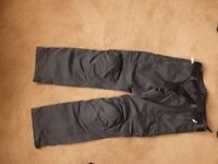 BMW Motorrad summer 3 trousers size L motorbike never worn with tags BNWT detachable lowers armour