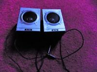 Two Altai stereo car speakers