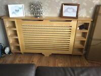 Beech radiator cover
