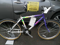 MBK Retro Steel Mountain Bike NOS Brand New Never Used Small Frame 24 Inch Wheel Located in Bridgend