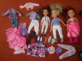 DesignaFriend Dolls + Clothes