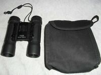 BINOCULARS 10 x 25 101m/1000m COMPACT & LIGHTWEIGHT WITH CARRYING CASE & CLEANING CLOTH