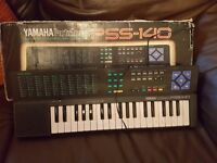 Yamaha Keyboard & Recoder with bag & book