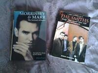 2 books on THE SMITHS AND MORRISSEY & MARR.