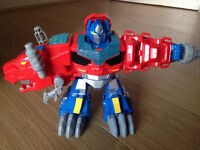 Rare Heroes Transformers Rescue Bots Optimus Primal Figure toy
