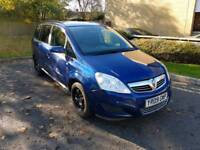 Zafira Exclusive 1.6L 5DR 2009 long mot service history 7 seater