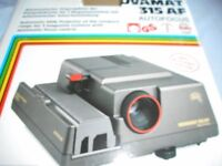 Slide Projector- Automatic focus control- for slides 24x36mm