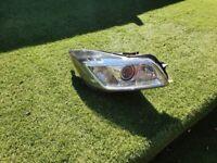 Vauxhall insignia driver side headlight o/s/f