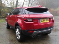 Land Rover Range Rover Evoque TD4 SE TECH (red) 2016-11-30