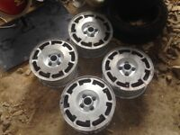 Pirelli P Slot Alloy Wheels VW polo golf scirocco