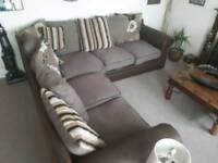 Large corner sofa suite