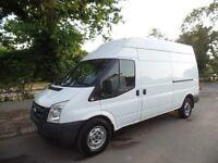 Van owner driver LWB looking for flexible work