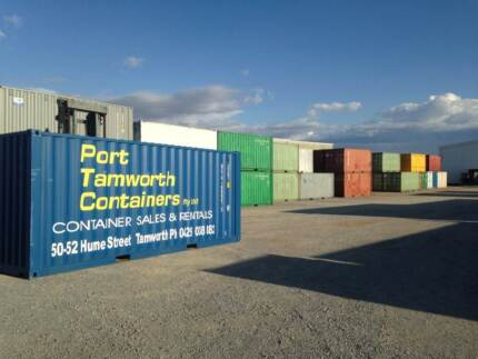 Shipping Containers in Tamworth - 20' from $3300 inc gst
